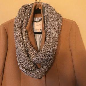 Accessories - Ann Taylor LOFT silver infinity scarf!